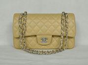 Chanel 1112 Классический 2, 55  кожи с золотым мешка щитка оборудования