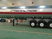 Продам газовоз цистерну DOGAN YILDIZ 45 м3