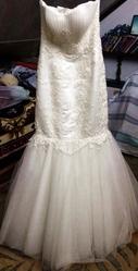 Шикарное свадебное платье/ платье для никаха