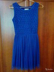 Продам платье,  синего цвета,  42 размера