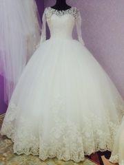 Пышное шикарное платье
